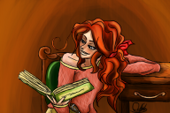 Katherine Reading a Book von Captain--KiKi.png
